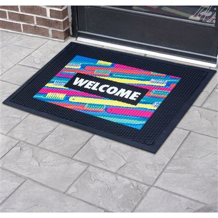 Printed Outdoor Floor Mats Practicon
