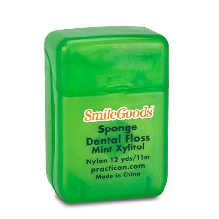 Mint Xylitol Sponge Floss