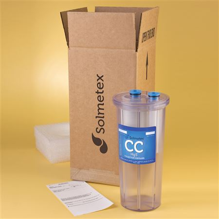 SolmeteX Hg5 Replacement Collection Container with Recycle Kit