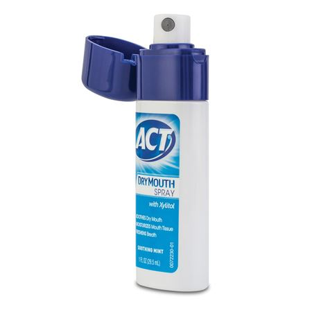 Act Mouthwash Dry Mouth >> Act Dry Mouth Spray 1 oz | Practicon