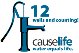 causelife water wells created