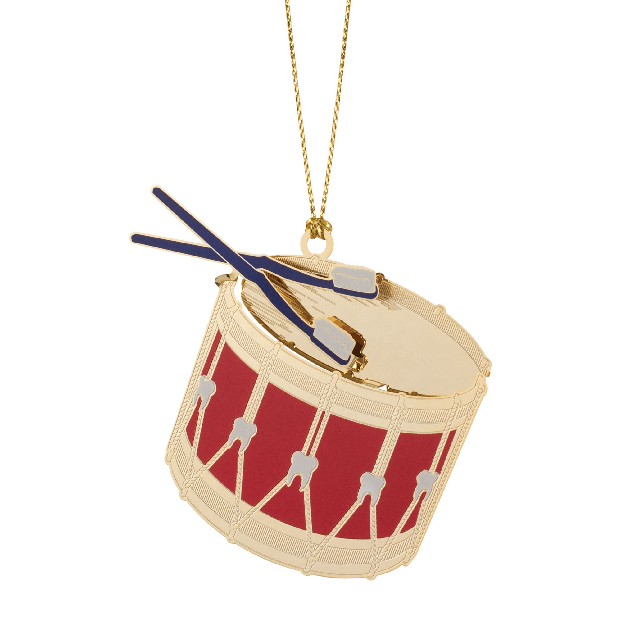25th Annual Dental Snare Drum Ornament
