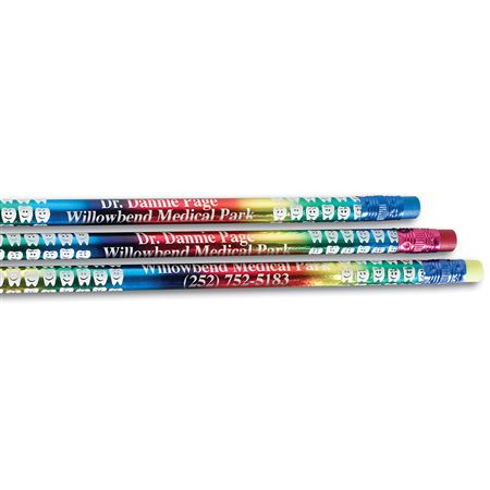 Custom Foil Tooth Pencils