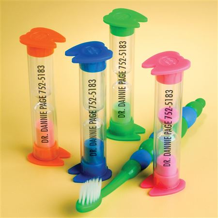 Personalized 2-Minute Tooth Sand Timers