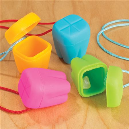 Neon Tooth Saver Necklaces