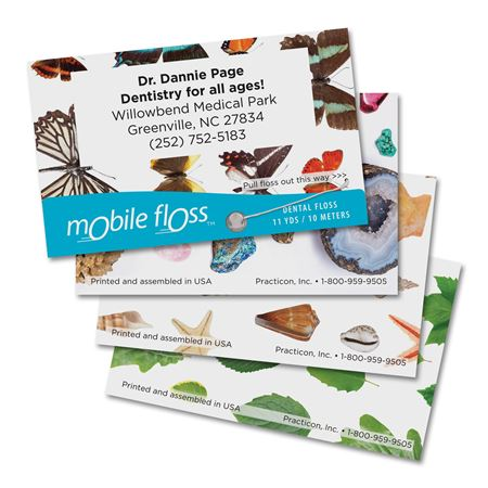 Personalized Nature Mobile Floss