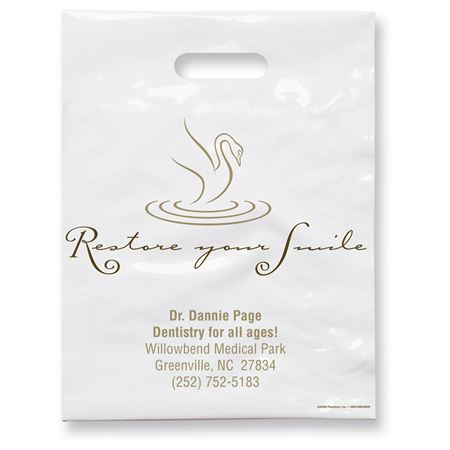 7 3/4 X 9 Restore Your Smile Patient Care Bags - Bulk