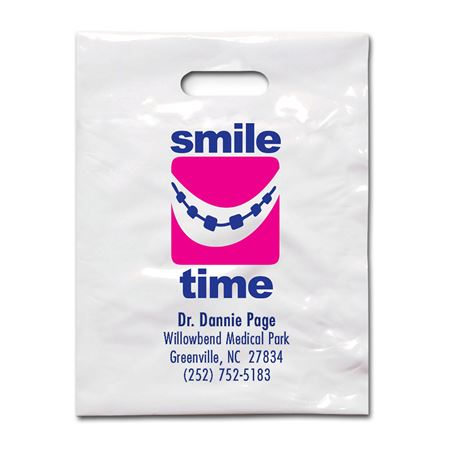 9 X 12 Smile Time Braces Patient Care Bags - Bulk
