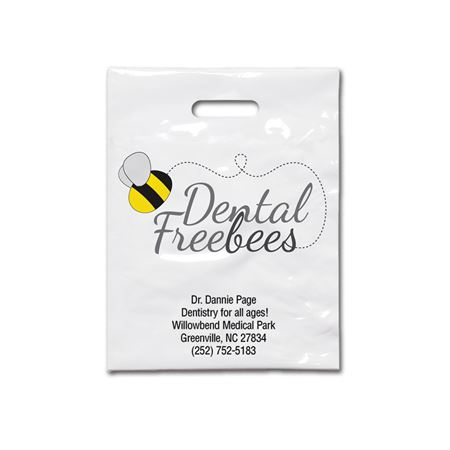7 3/4 X 9 Dental Freebees Patient Care Bags - Bulk