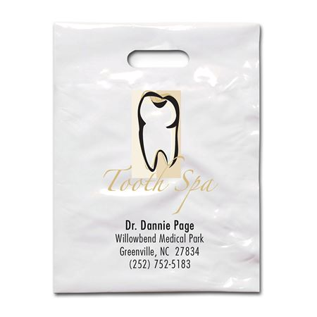 7 3/4 X 9 Tooth Spa Patient Care Bags - Bulk