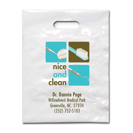 7 3/4 X 9 Nice And Clean Patient Care Bags - Bulk