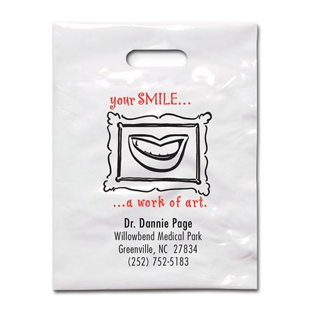 7 3/4 X 9 Your Smile - Patient Care Bags - Bulk