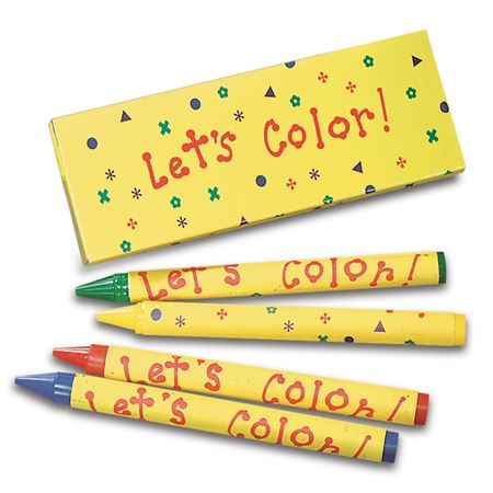 Let's Color Crayons
