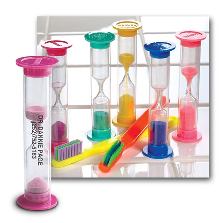 3-Minute Personalized Brushing Sand Timers