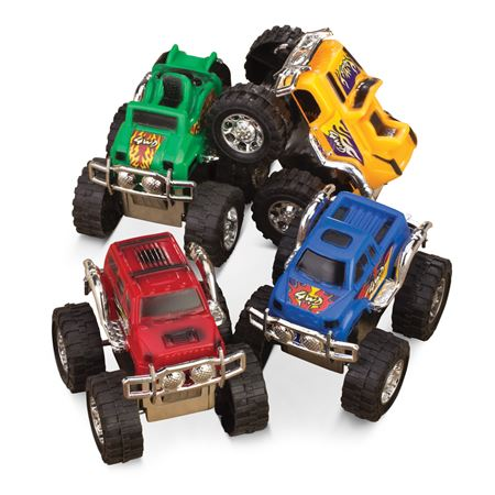 Pull Back Monster Trucks