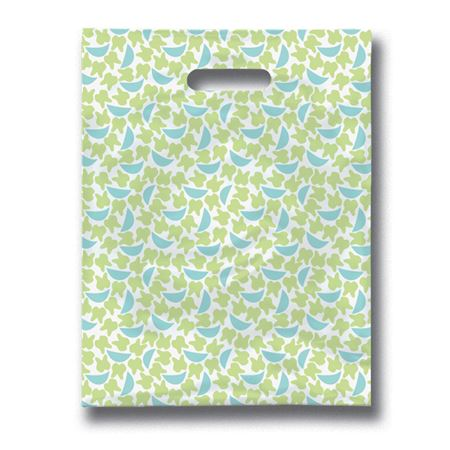 9 X 12 Tooth N Grins Scatter Print Patient Bags - Bulk 100/Pack
