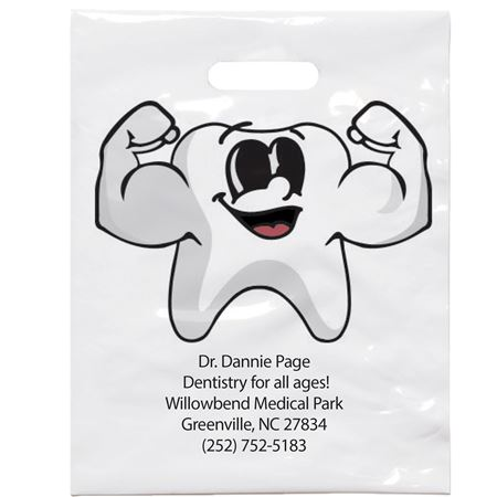 7 3/4 X 9 Strong Tootie Patient Care Bags - Bulk