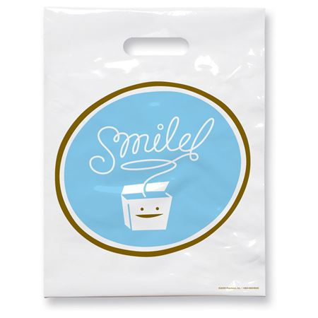 7 3/4 X 9 Smile Floss Patient Care Bags - Bulk