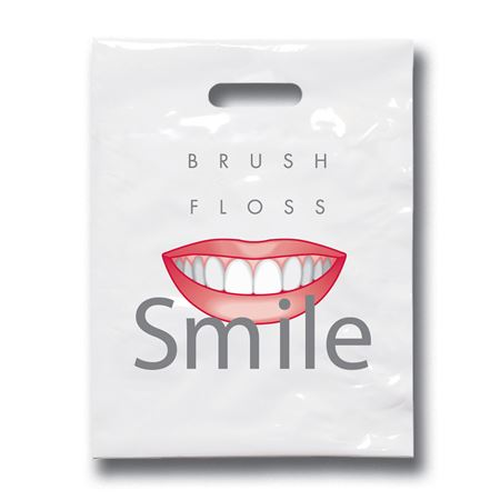 7 3/4 Inch X 9 Inch Brush Floss C Patient Care Bags - Bulk