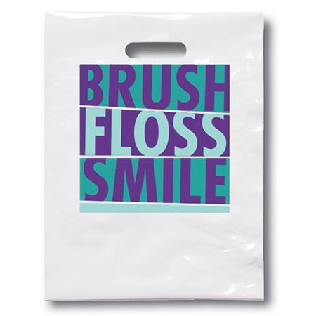 Small Brush Smile Floss Shine Bag - Bulk