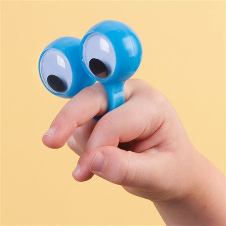 Finger Eye Puppets - 12 Pack