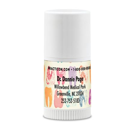 Molar Stamps Mini Lip Balm Personalized - Bulk