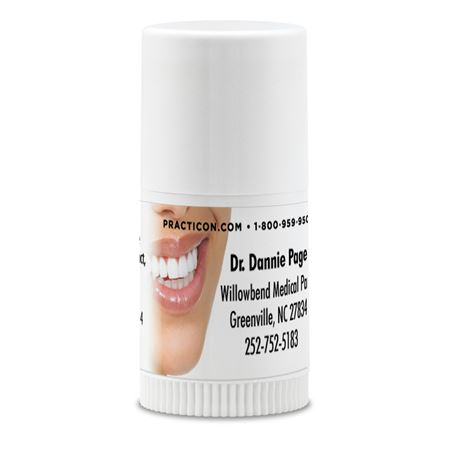 Photo Smile B Mini Lip Balm Personalized - Bulk 250/Case