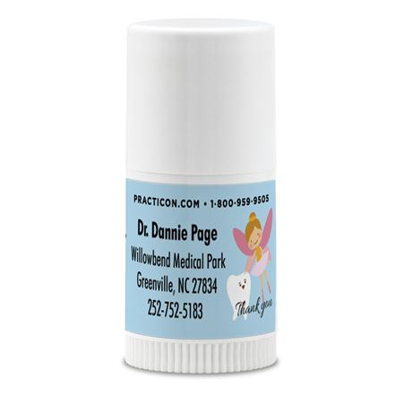 Tooth Fairy Thank You Mini Lip Balm Personalized - Bulk