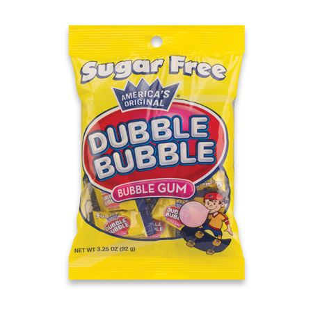 Dubble Bubble Sugar-Free Bubble Gum - Bulk
