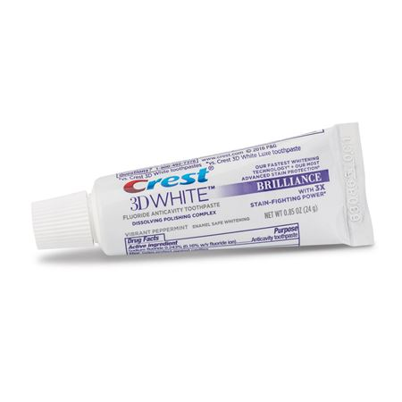 Crest 3D White Brilliance Toothpaste - Bulk