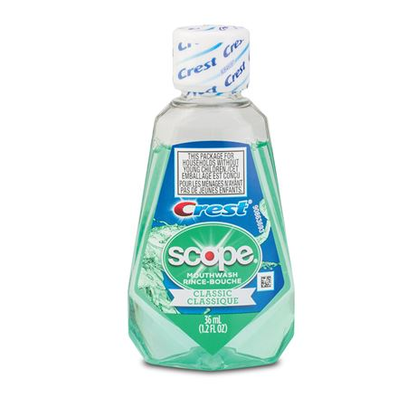 Crest Scope Classic Original Mint Mouthwash - Bulk