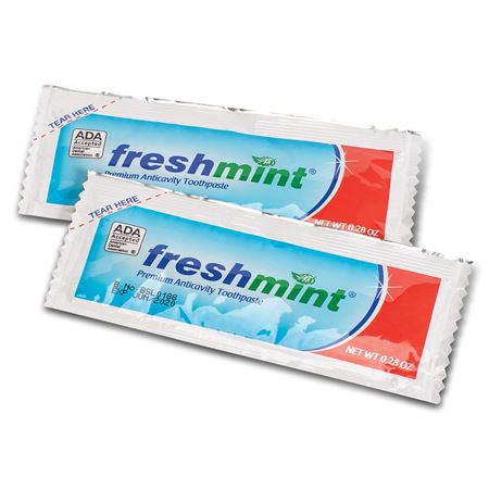 Freshmint Single Use Anticavity Fluoride TP Packet