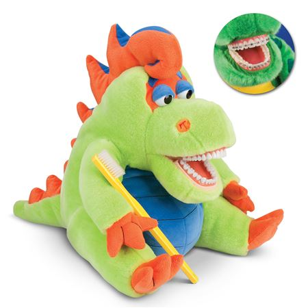StarSmilez Farley Flossisaurus Teaching Aid with Braces