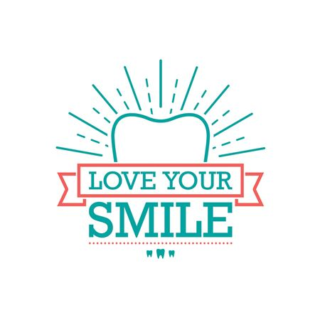 Tooth Shine Love Your Smile Reminder Laser Card