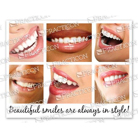 Beautiful Smiles Practicare Postcard