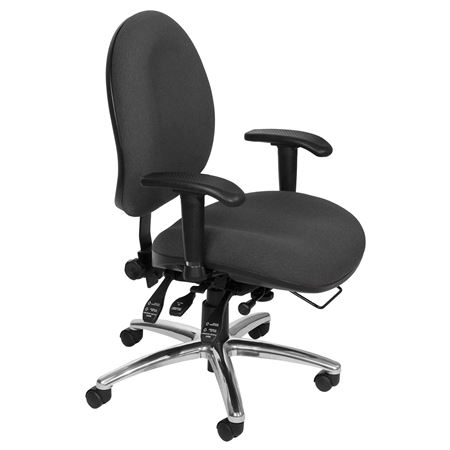 24 Hour Big and Tall Computer Task Chair