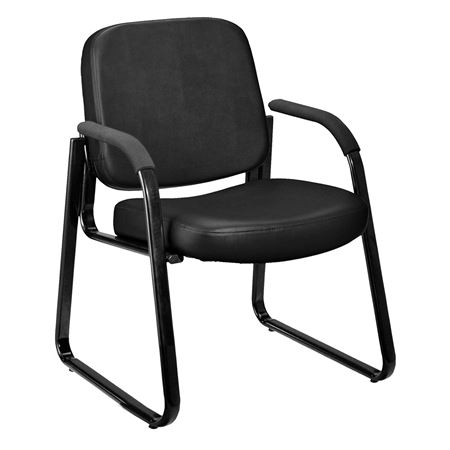 Anti-Microbial Reception Chair with Arms
