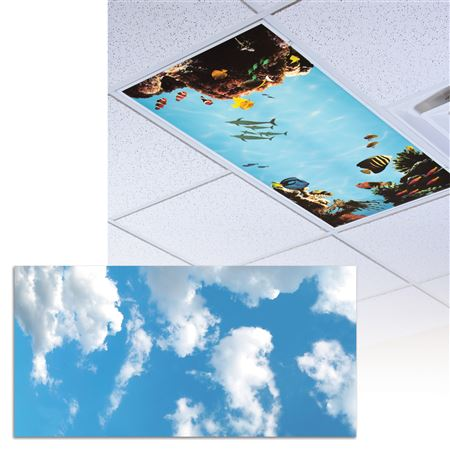 Fluffy Clouds Light Panel