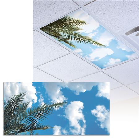 Tropical Palm Light Panel