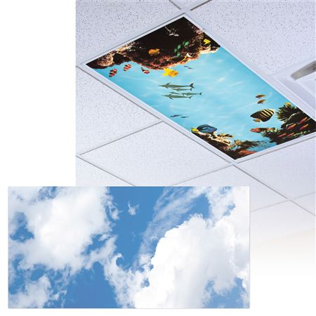 Clouds 5 Light Panel 1/Each