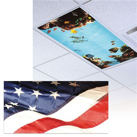 Stars And Stripes Light Panel
