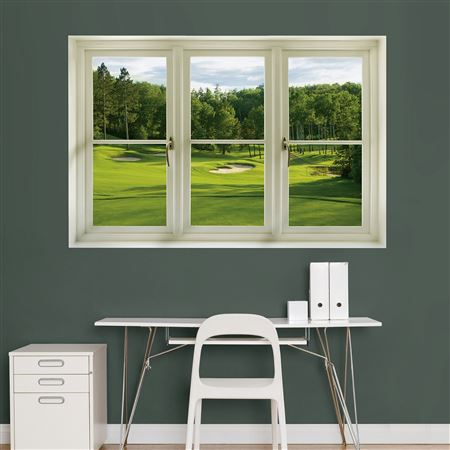 Golf Tee Box Instant Window