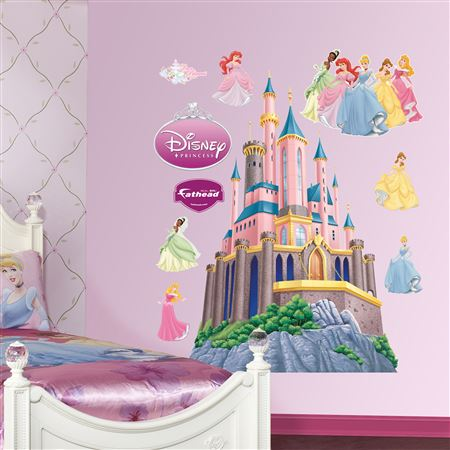 Disney Princess Castle Decal