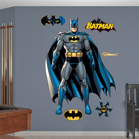 Batman Full Throttle Decal