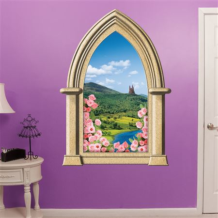 Fairy Tale Castle Instant Window