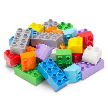 Fun Builder Table Bloks 60/Pack