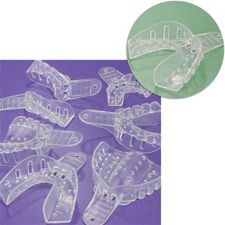 No.X2 X-Large Lower Arch Excellent-Clear Impression Trays