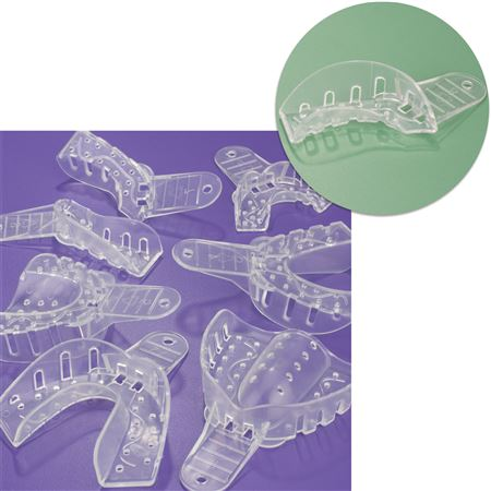 No.8 Ul Lr Quadrant Excellent-Clear Impression Trays