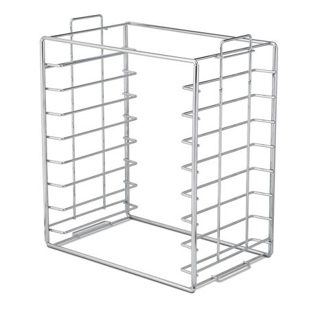 B Size Chrome Tray And Lid Rack