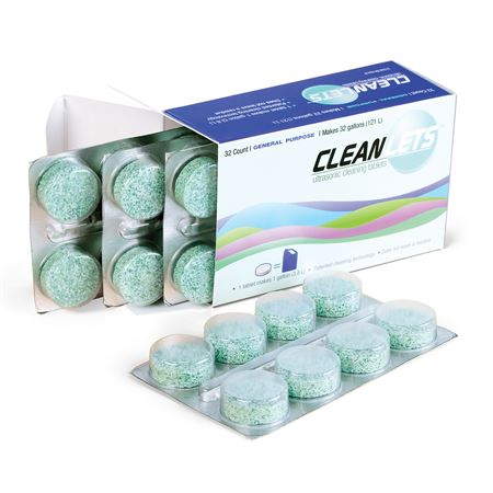 Cleanlets Gp Ultrasonic Cleaning Tablets